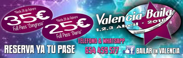 "Valéncia Baila ""Latino"""