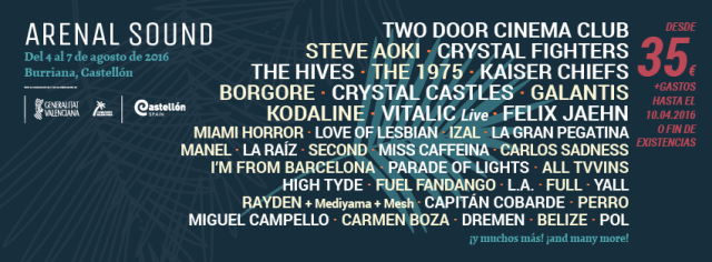 Arenal Sound Festival - 2016