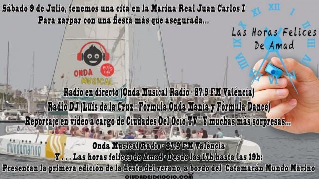 Desde El Catamarán - Radio en directo - Las Horas Felices de Amad