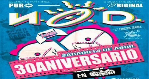 30 Aniversario de NOD