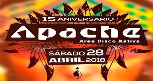 Apache Disco 15 Aniversario