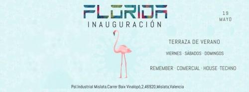 Florida /La Floridita Inauguración Terraza De Verano