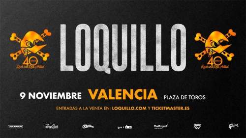 Loquillo '40 años de Rock and Roll Actitud' en Valencia