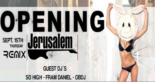Opening Remix Party -Thursday