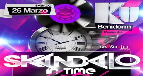 Skandalo In Time Festival en Ku Benidorm