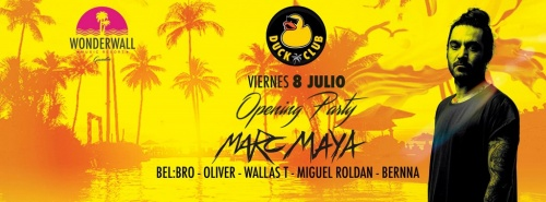 Opening DUCK CLUB con MARC MAYA